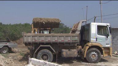 Prefeitura de Praia Grande faz mutirão contra Dengue - Ação ocorreu neste sábado (19)