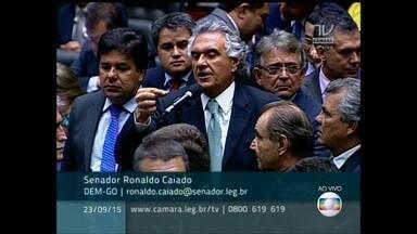 Congresso vota manutenção de vetos a projetos sobre gastos federais - Heraldo Pereira acompanha ao vivo a votação do Congresso que pode derrubar ou não os vetos de Dilma a projetos que criam mais gastos.