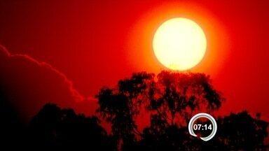 Inverno atípico dá lugar à primavera quente no Vale do Paraíba - Região teve calor de 38ºC e frio com temperatura negativa na serra. Primeiros dias da primavera devem ser de calor, segundo o Cptec.
