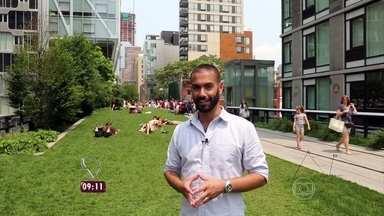 High Line: conheça paisagem que chama a atenção em Nova York - Em 2009, espaço foi transformado em um belo parque