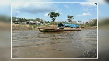 Jovem desaparece em rio no AM após tentar salvar amigo - Vítima saiu para pescar com o amigo em uma canoa no Rio Solimões.
