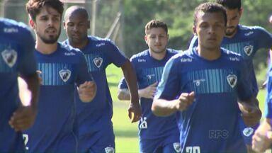 Londrina muda para enfrentar o Madureira - Quatro titulares estão suspensos e o atacante Edmar, que está com tendinite, é dúvida.