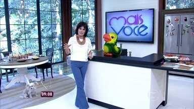 Ana Maria confessa que usou peruca durante a semana; assista! - Enquete aberta no Gshow quis saber qual era a preferida do público