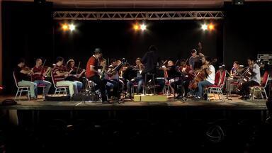 Espetáculo da Orquestra de MT inclui o frevo no repertório - Espetáculo da Orquestra de MT inclui o frevo no repertório