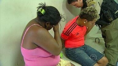 Babá ajuda a planejar assalto e é presa na frente de criança de quem cuidava no Recife - Ela confessou ter avisado a um amigo que chefe estaria saindo de casa com quantia em dinheiro.