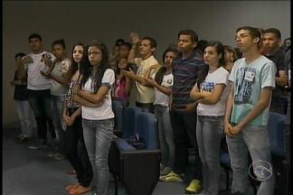 Estudantes surdos participam de encontro em Petrolina - O encontro discutiu a inclusão social.