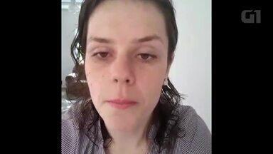 Depois de tentar vários métodos, jovem recorre a cirurgia e perde 82 kg - Ao emagrecer, Maryane Coan, que tinha 154 kg, se livrou da hipertensão