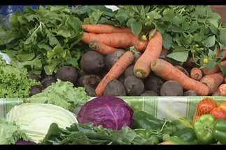 Câmera na mão mostra como alimentos podem ser reaproveitados - Estagiária Bruna Cabral mostra na reportagem.