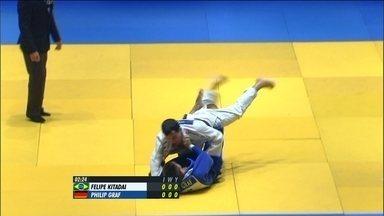 Felipe Kitadai vence Philip Graf por ippon no Desafio Internacional de Judô - Time brasileiro derrora alemãs por 5 lutas a 0.