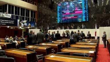 Projeto que aumenta ICMS é aprovado em 2º turno na Assembleia de Minas - Segundo assembleia, emendas são votadas separadamente.
