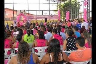 Começou nesta sexta a campanha Outubro Rosa - Objetivo da campanha é prevenir o câncer de mama.