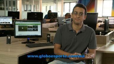 Destaques do GloboEsporte.com/ma desta sexta-feira - Destaques do GloboEsporte.com/ma desta sexta-feira (02/10/2015) com o redator Bruno Alves.