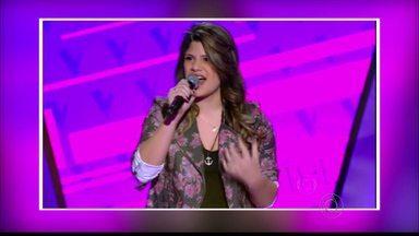 Tem paraibana no The Voice Brasil - Sarah Lorena é de São João do Rio do Peixe e fez bonito na primeira audição.