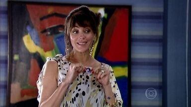 Melissa pede queTarso se aproxime de Isabela - Inês pede que o irmão se posicione diante da mãe
