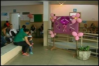 Ações são promovidas para campanha do Outubro Rosa em Araxá - Movimento acontece durante este mês e tem a finalidade de conscientização sobre a importância da prevenção do câncer de mama.