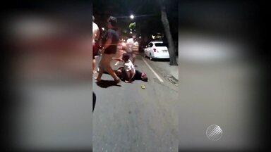 Polícia investiga agressão a homem no bairro da Pituba - Vítima corre risco de perder a visão de um dos olhos.
