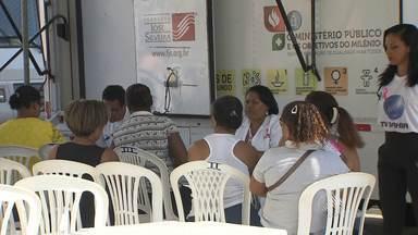 Outubro Rosa: sem atendimento médico, mulheres sofrem com diversas infecções - BATV promoveu uma ação de saúde até esta sexta (02) no bairro da Caixa D'Água.