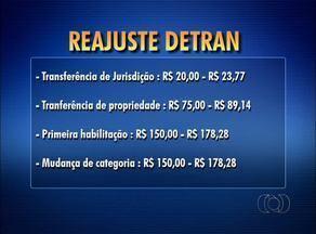 Pacote de reajutes de impostos altera preços de serviços e taxas do Detran - Pacote de reajutes de impostos altera preços de serviços e taxas do Detran
