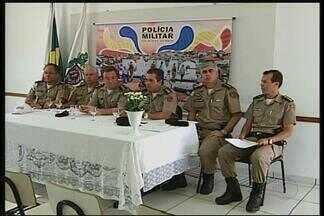 Polícia de Patos de Minas divulga resultados da operação 'Contenção' - Ação ocorreu na quinta-feira (1º) em todo o Estado.