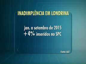 Aumenta o número de inscritos no SPC em Londrina - Um balanço da Associação Comercial e Industrial indicou que os londrinenses estão com dificuldade para pagar as contas dentro do prazo. O número de inscritos no Serviço de Proteção ao Crédito aumentou no último mês.