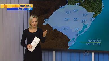 Tempo: massa de ar seco garante tempo firme e frio na segunda-feira (5) no RS - Previsão é de sol na capital.