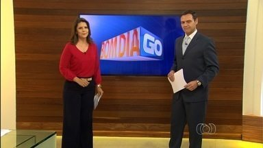 Confira os destaques do Bom Dia Goiás desta segunda-feira (5) - Um incêndio de grandes proporções que destruiu o prédio do TRT está entre os destaques.