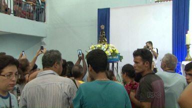 Imagem de Nossa Senhora Aparecida chega a Foz do Iguaçu - A Imagem fica até o dia 12 de Outubro.