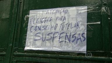Eleições para Conselhos Tutelares do Rio são canceladas - A eleição para os Conselhos Tutelares da cidade do Rio de Janeiro foi cancelada, depois de problemas no sistema de votação. O RJTV recebeu muitas reclamações de telespectadores, que não conseguiram votar.