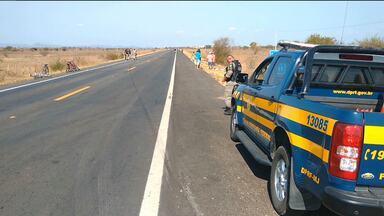 Motociclista morre em acidente no Sertão da Paraíba - Ele não tinha carteira de habilitação.