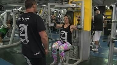 André Curvello visita academia e conhece viciados na busca do corpo perfeito - Vigorexia: autoimagem distorcida leva à prática exagerada de exercícios físicos