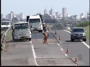 Rodovia Raposo Tavares é interditada em dois trechos para obras - Em Regente Feijó e Caiuá motoristas precisam redobrar atenção.