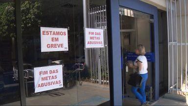 Bancários do Sul deMinas aderem à greve nacional da categoria - Bancários do Sul deMinas aderem à greve nacional da categoria