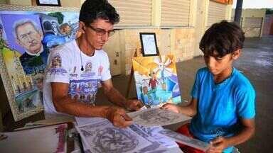 Cearense transforma riqueza cultural e natural do Cariri em arte - Conheça essa história do Nosso Ceará.