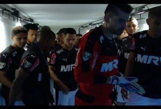 Jogadores do Atlético-MG aproveitam pausa nos jogos para treinar forte - Time enfrenta o Internacional no dia 14 de outubro.