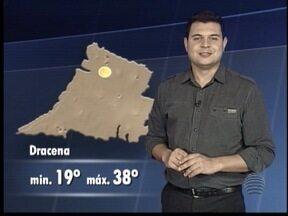 Saiba qual a previsão do tempo para esta quarta-feira - Primavera continua quente em todo o Oeste Paulista.