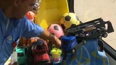 Campanhas de doação de brinquedos ganham força no DF em outubro - Com a proximidade do Dia das Crianças, começam as campanhas de doação de brinquedos.