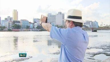 Arquiteto Francisco Cunha expõe fotos tiradas em caminhadas pelo Recife - Exposição 'O Recife tomado à luz, fotografias de um caminhante' abre nesta terça no Espaço Vitrúvio