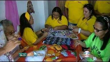 Associações e coletivas transformam artesãos em empreendedores - Mulheres de Abreu e Lima e especialista garantem que união garante o sucesso nos negócios