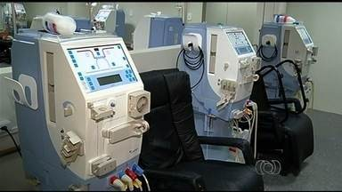 Clínica pode suspender hemodiálise para pacientes na rede pública, em Itumbiara - Direção do hospital afirma que não recebe há dois meses do Sistema Único de Saúde.