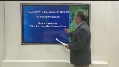 Notícias do esporte: confira a tabela de jogos da 2ª divisão do Piauiense - Notícias do esporte: confira a tabela de jogos da 2ª divisão do Piauiense
