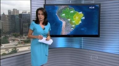 Previsão é de mais chuva para o Sul do Brasil nesta sexta-feira (9) - Alerta de temporais para os três estados da região Sul do Brasil. Também tem previsão de chuva forte no MS, oeste de MT e sul de RO. Confira a previsão do tempo para todo o país.