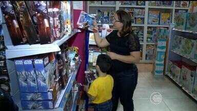 Comércio e indústria esperam que vendas no Dias das Crianças sejam otimistas - Comércio e indústria esperam que vendas no Dias das Crianças sejam otimistas