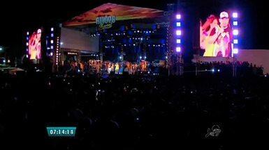 Aviões do Forró realiza show em comemoração dos 13 anos de sucesso da banda - Show acontece no Marina Park.