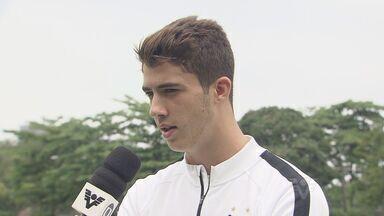 Se recuperando de lesão, zagueiro Gustavo Henrique fala sobre a fase do Santos - Equipe santista só volta a jogar na próxima quinta-feira, contra o Grêmio, em Porto Alegre.