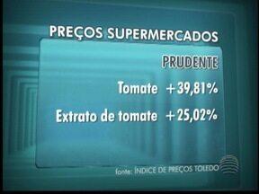 Cesta básica em Presidente Prudente está 1,15% mais cara - Artigos de limpeza foram os produtos que tiveram maior aumento.
