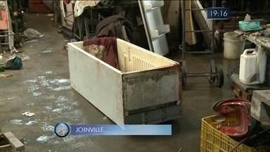 Giro de notícias: homem é encontrado morto dentro de freezer em Joinville - Giro de notícias: homem é encontrado morto dentro de freezer em Joinville