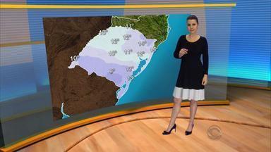 Fim de semana segue sob influência da instabilidade - Temperaturas ficam baixas pela manhã.