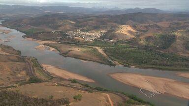 Seca ameaça a produção agrícola no Norte do ES - Um sobrevôo deixa clara a situação de seca da região.