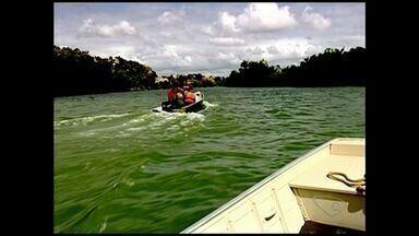 Equipe percorre Rio Cricaré para colher amostrar de água no ES - Com as informações, será elaborado um documento.