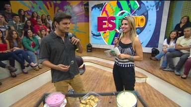 Sobremesas para Bruno Gissoni - O gato experimentou três sobremesas preparadas por fãs e escolheu a preferida dele entre cookies, doce de morango e torta de limão